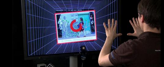 Interface d'Interaction Gestuelle 3D Multi-Touch