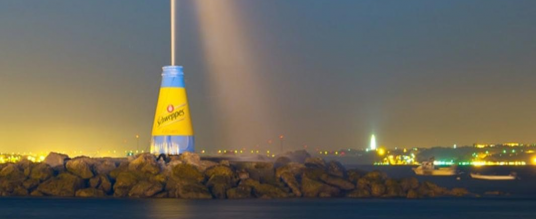 Schweppes – Beach Marketing