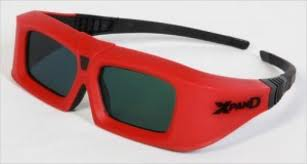 3DTV from active to passive Glasses